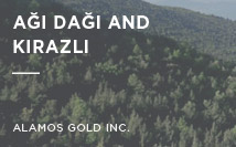 Ağı Dağı and Kirazli | Alamos Gold Inc.