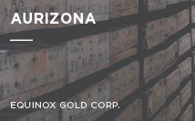 Aurizona | Equinox Gold Corp.