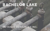Bachelor Lake Mine | Metanor Resources Inc.