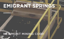 Emigrant Springs | Newmont Mining Corp.