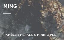 Ming Mine | Rambler Metals & Mining PLC