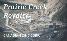 Prairie Creek Royalty | Canadian Zinc Corp.