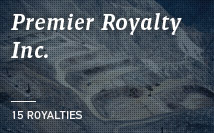 Premier Royalty | 14 Royalties with 7 producing assets
