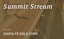Summit Mine | Santa Fe Gold Corp.