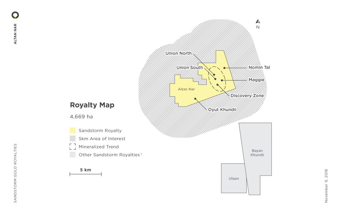 Altan Nar Royalty Map