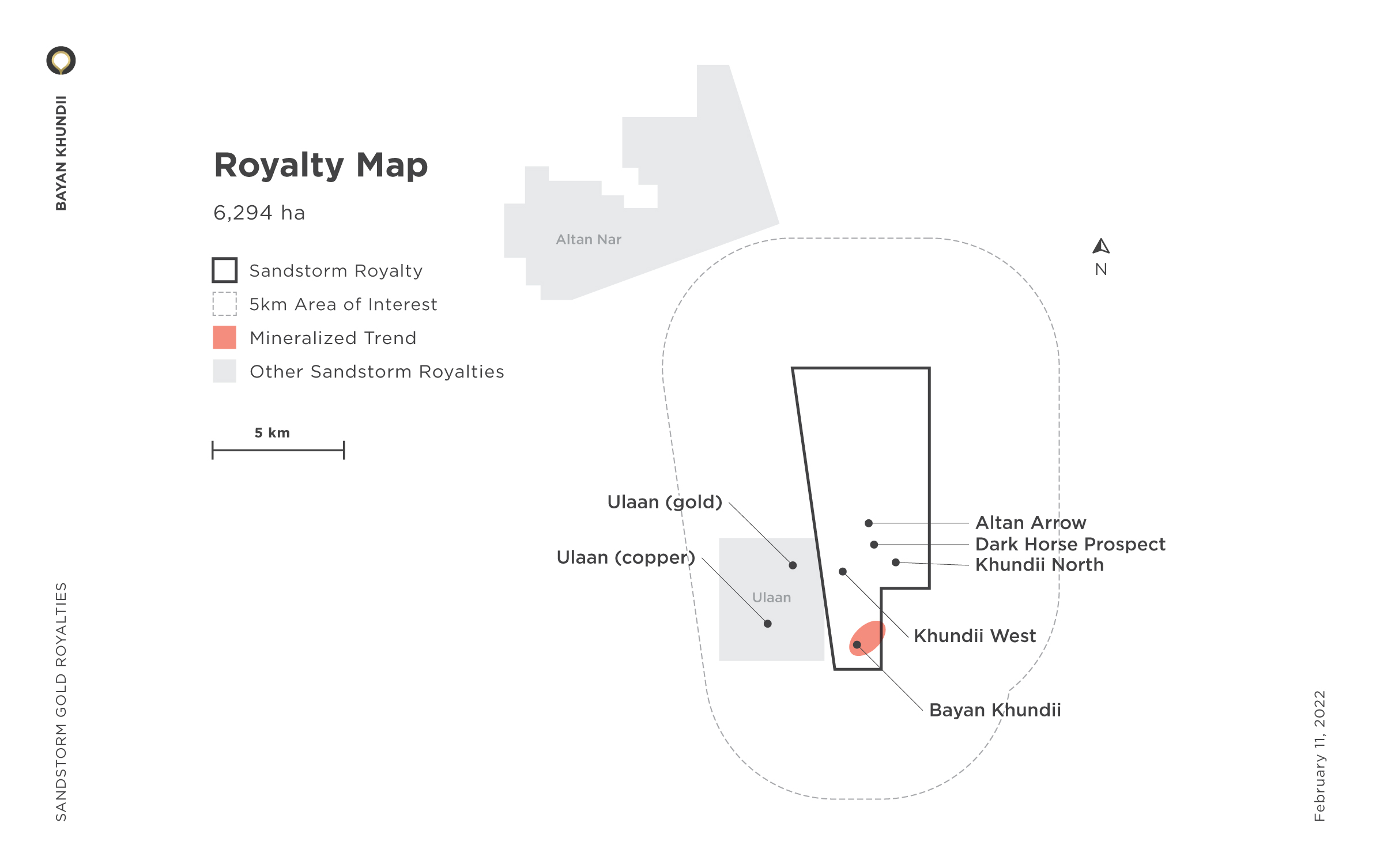 Bayan Khundii Royalty Map