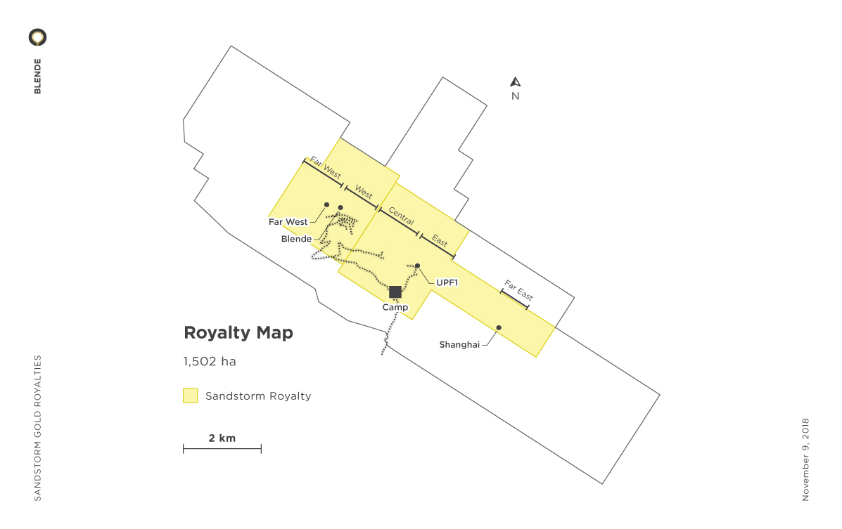 Blende Royalty Map