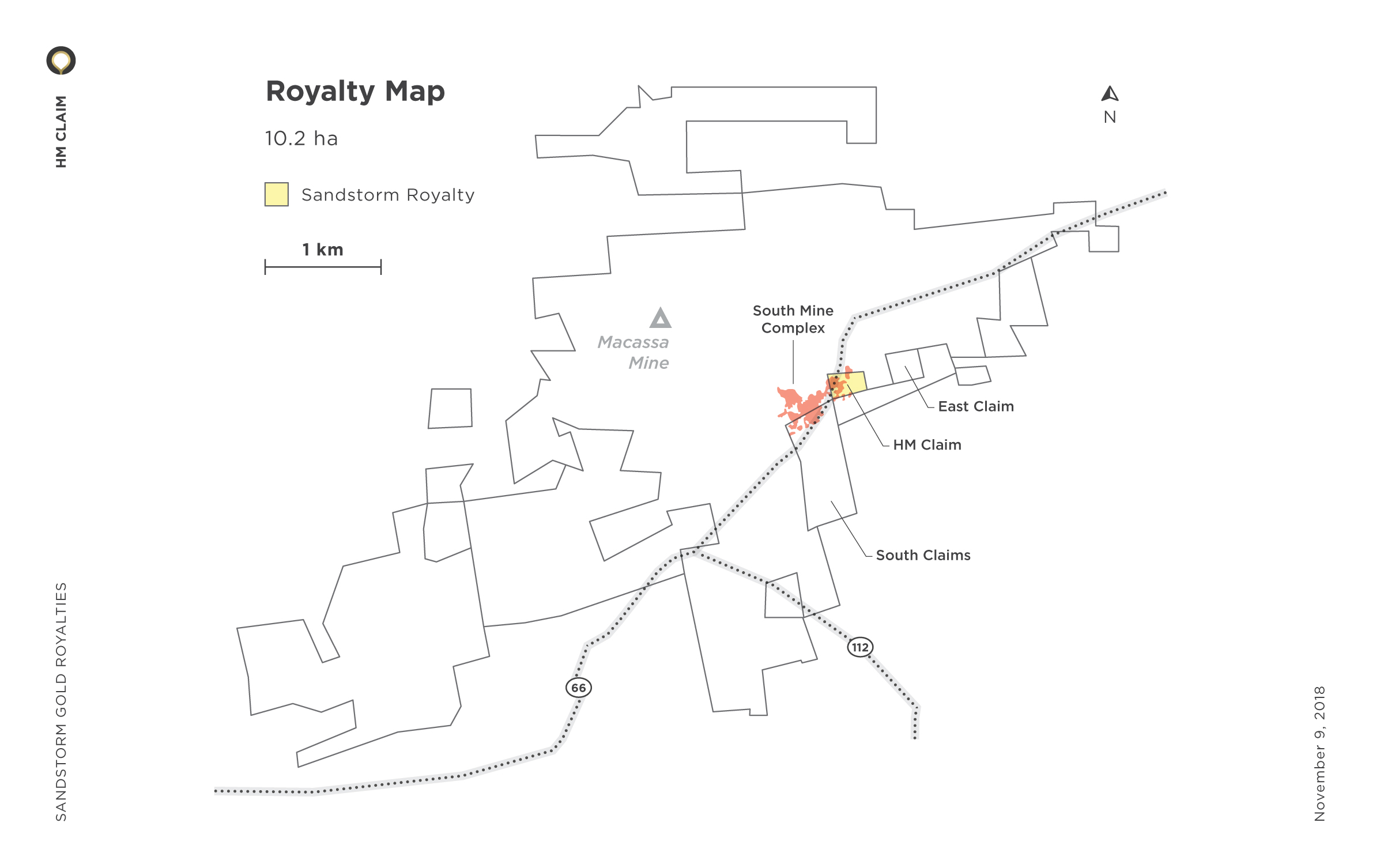 HM Claim Royalty Map