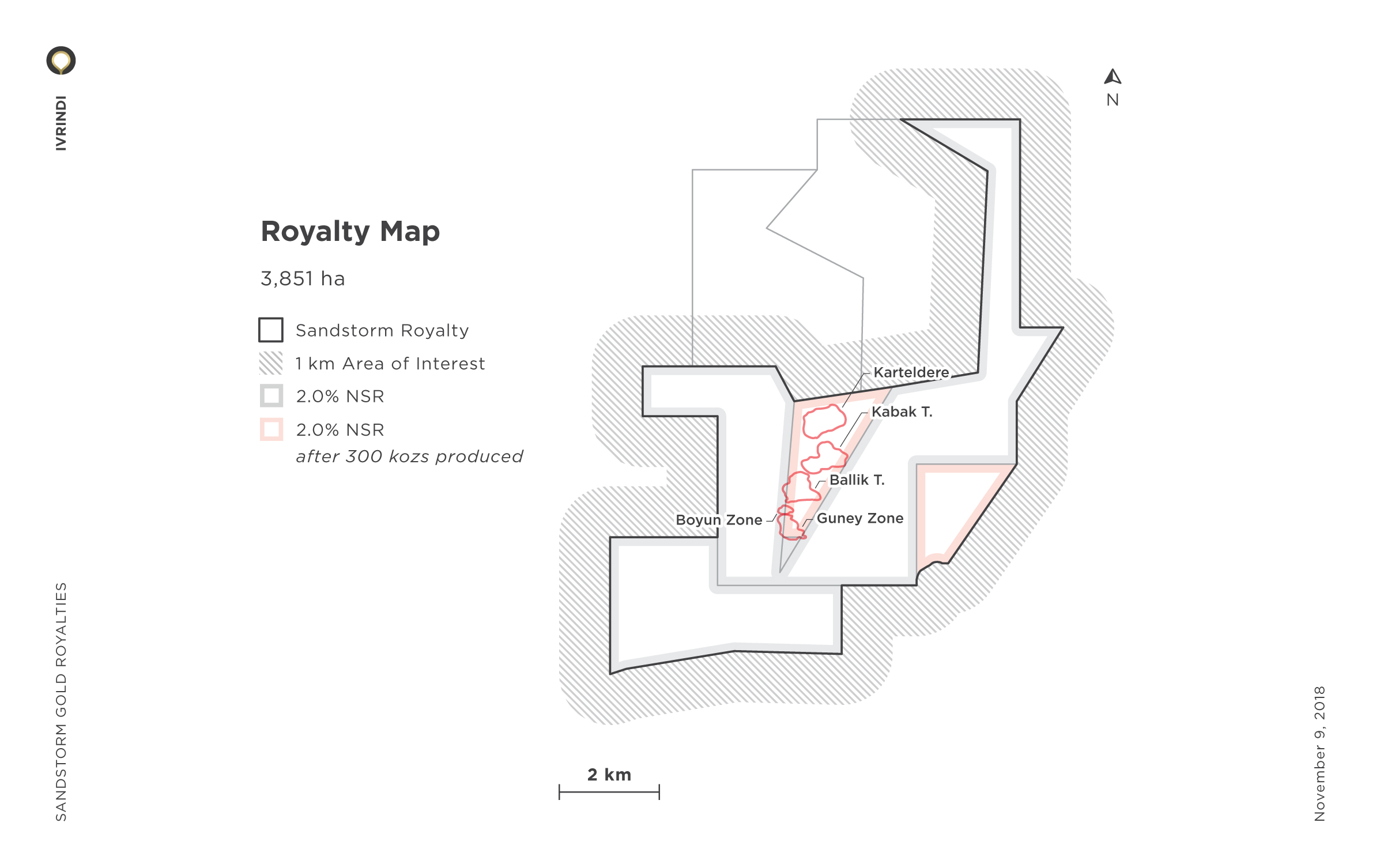 Ivrindi Royalty Map