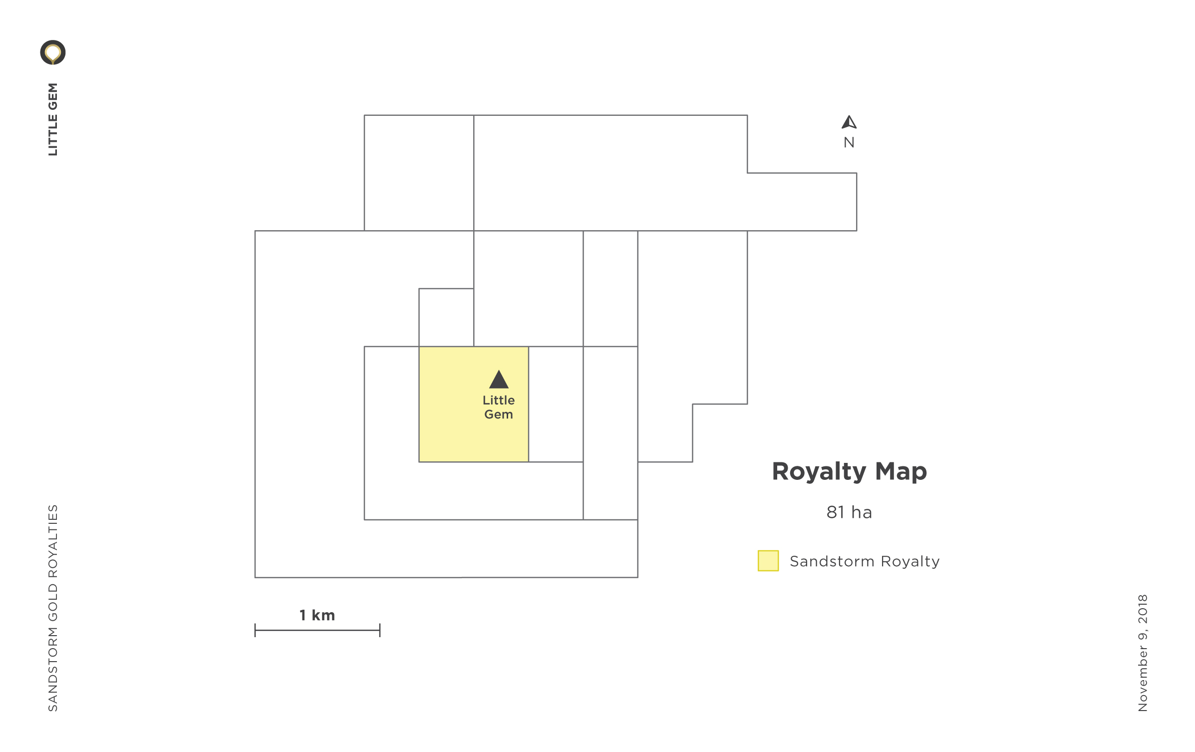 Little Gem Royalty Map