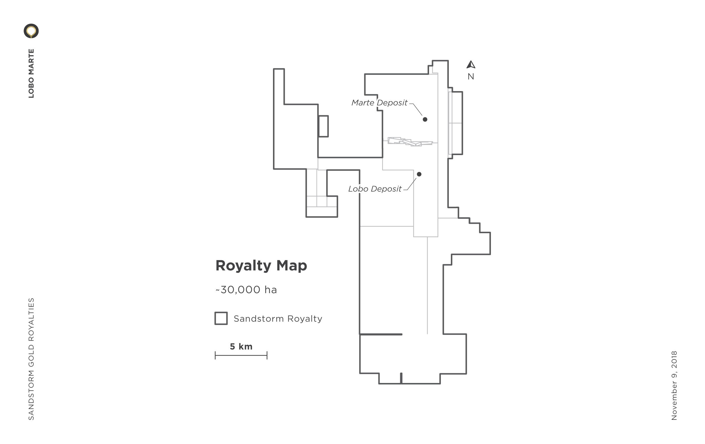 Lobo Marte Royalty Map