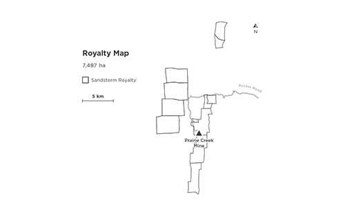 Prairie Creek Royalty Map