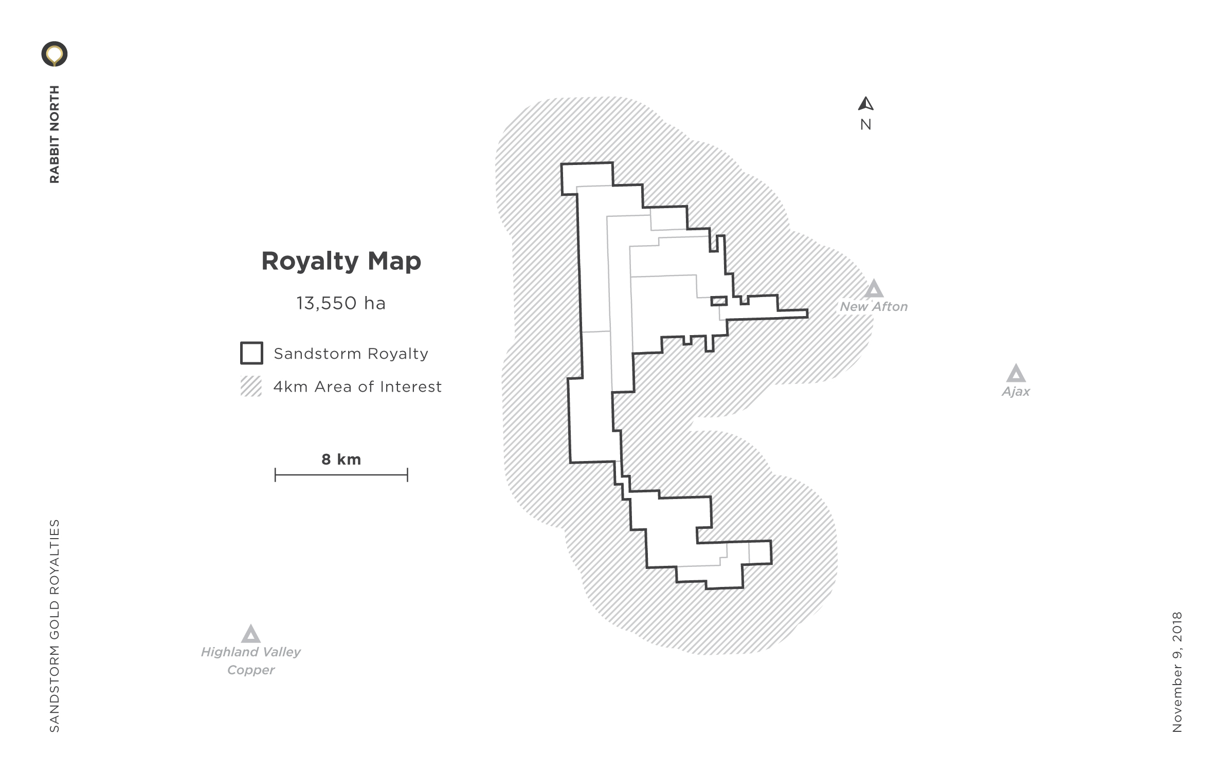 Rabbit North Royalty Map