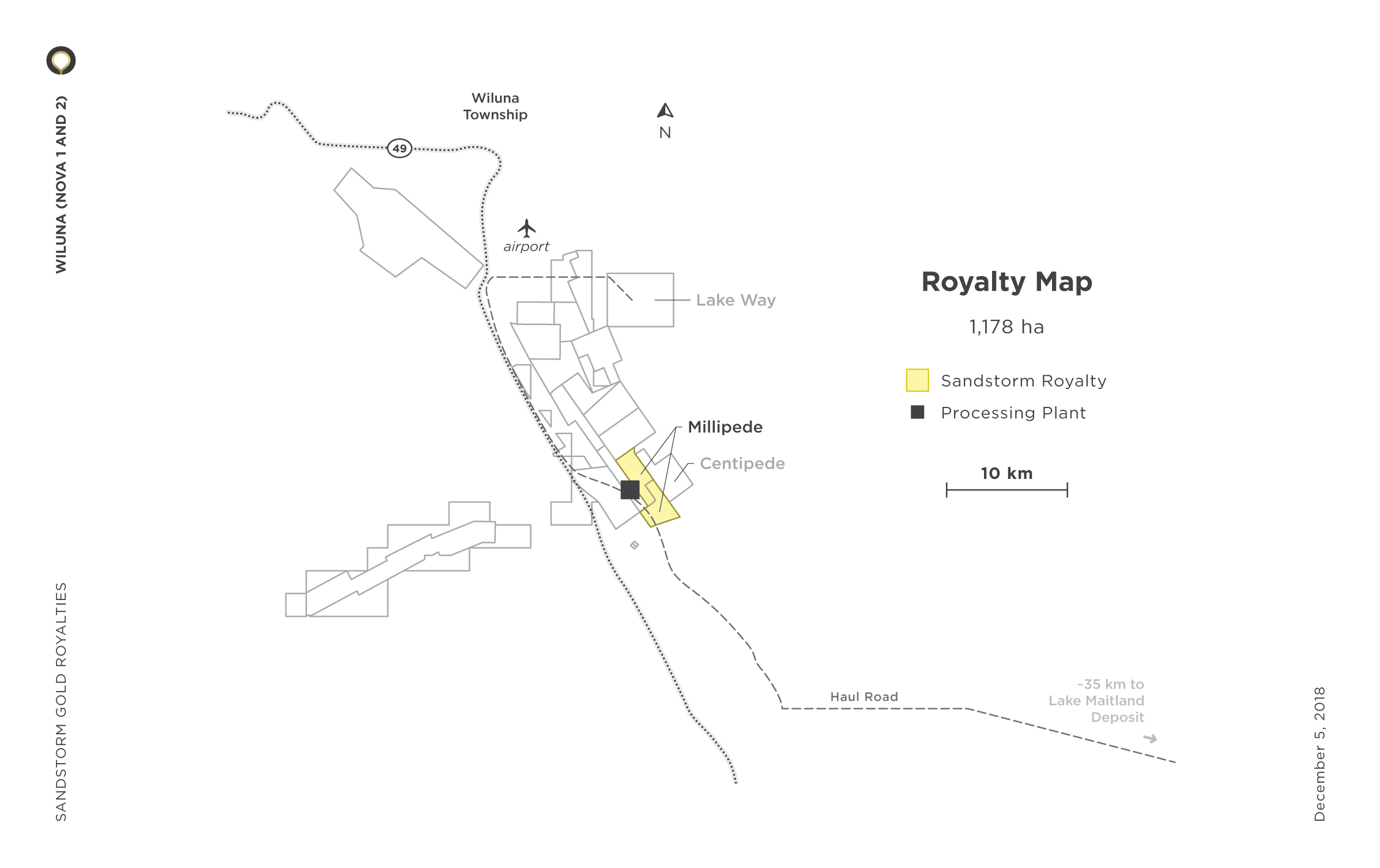 Wiluna Royalty Map